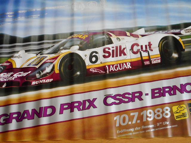 Grand Prix ČSSR Brno - 10. 7. 1988 - plakát