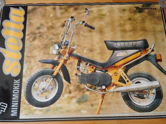 Minimokik Stella - plakát - Mototechna - 1990