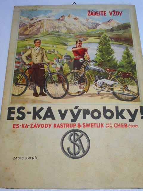 Žádejte vždy ES-KA výrobky! papírová reklama