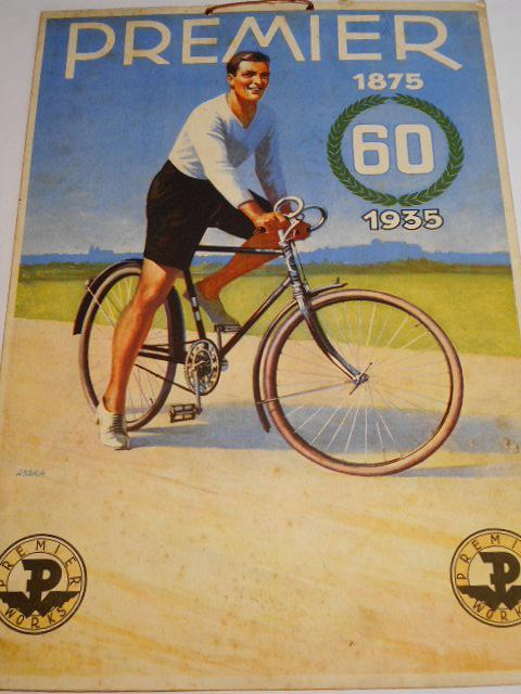 Premier 1875 - 1935 - papírová reklama
