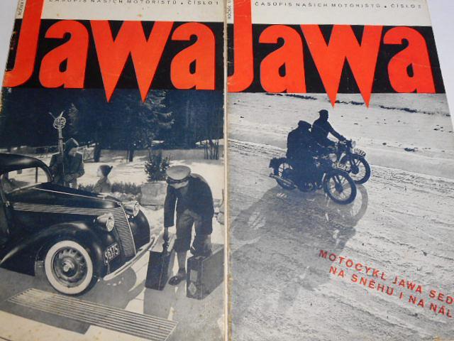 JAWA - časopis našich motoristů 1939 - kompletní VI. ročník