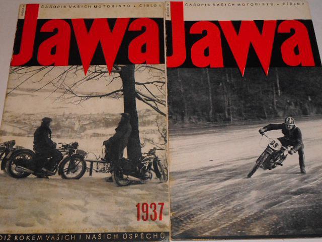 JAWA - časopis našich motoristů 1937 - kompletní IV. ročník