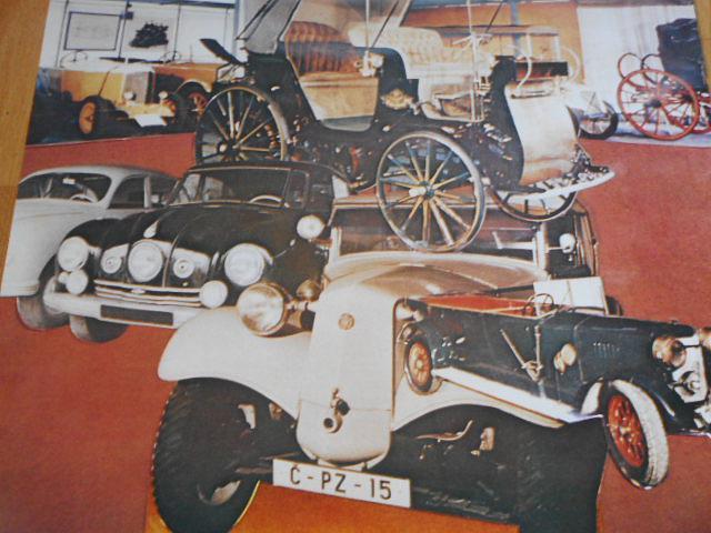 Technické muzeum n. p. Tatra Kopřivnice - plakát