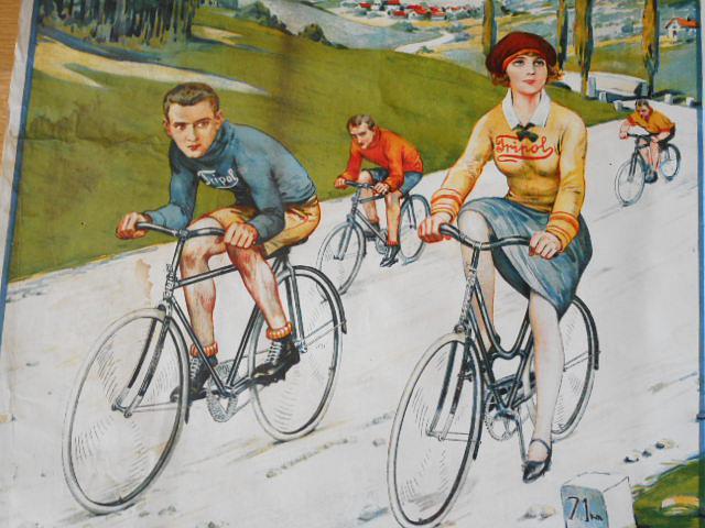 Tripol - jízdní kola - plakát