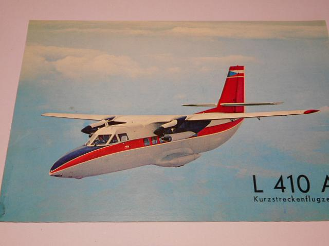 LET Uherské Hradiště - L 410 A Kurzstreckenflugzeug prospekt