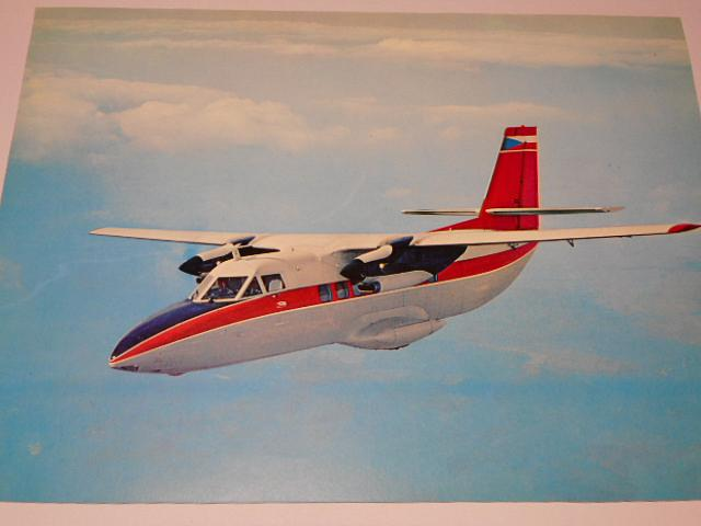 LET Uherské Hradiště - L 410 - leták bez textu