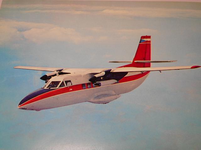 LET Uherské Hradiště - L 410 A Turbolet - prospekt