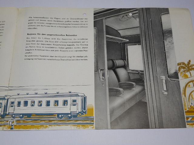 VEB Waggonbau Ammendorf - 4-achsiger Personenwagen für Ägypten - prospekt