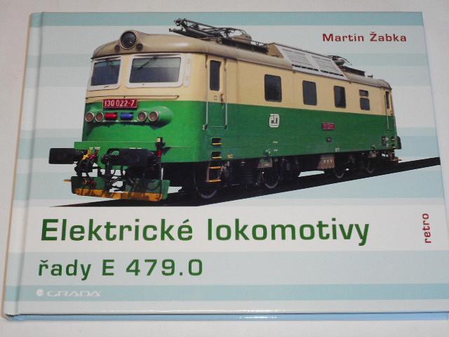 Elektrické lokomotivy řady E 479.0 - Martin Žabka - 2020