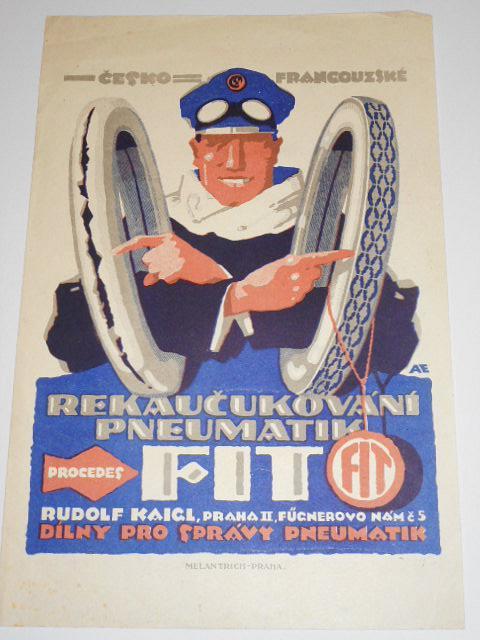 FIT - rekaučukování pneumatik - leták