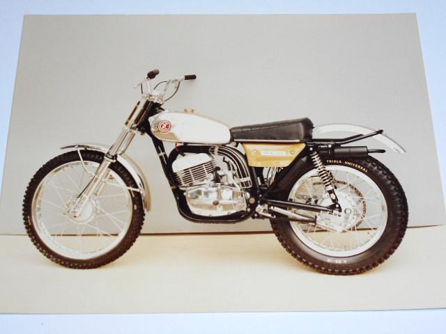 ČZ 250 typ 993 Trial 1973 - fotografie