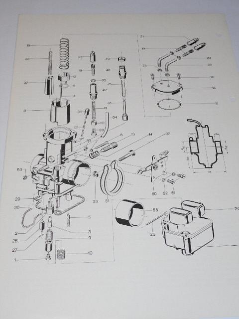 Bing - Schieber - Vergaser Typ 54-2 - prospekt - 1978