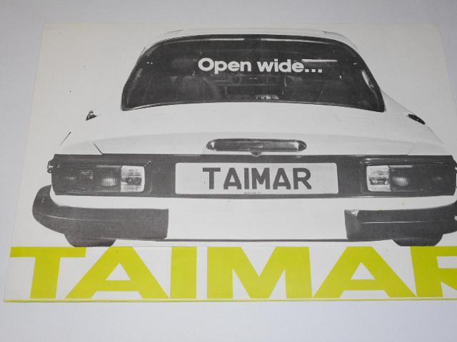 TVR Taimar - prospekt - 1976