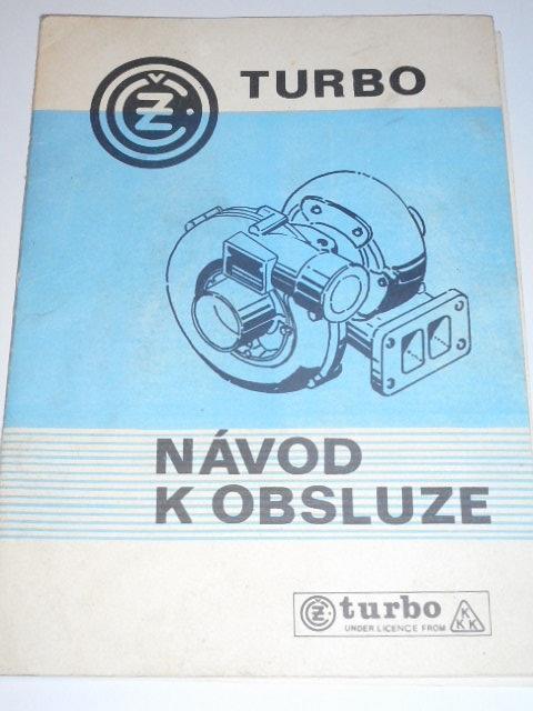 ČZ turbo - návod k obsluze - 1982