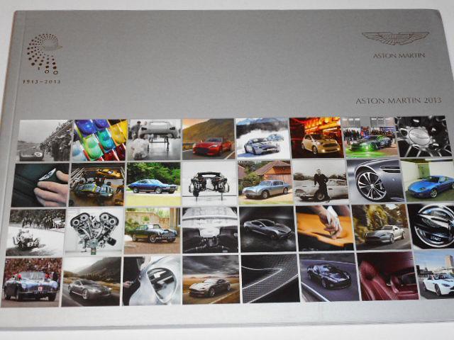 Aston Martin 2013 - prospekt