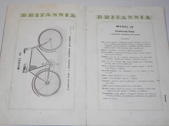 Premier Britannia - kola, Premier Liliput - 1925 - prospekt