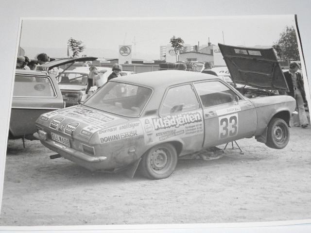 Opel Ascona - fotografie - Rallye Škoda 1979