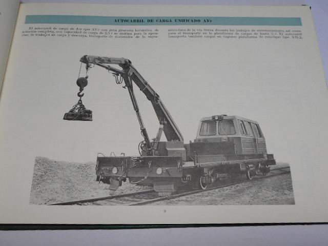 Máquinas y mecanismos para el entrtenimiento de vías férreas
