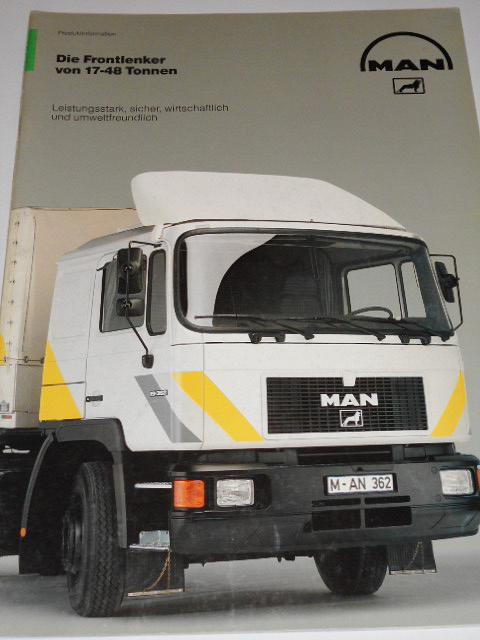 MAN - Die Frontlenker von 17-48 Tonnen - prospekt