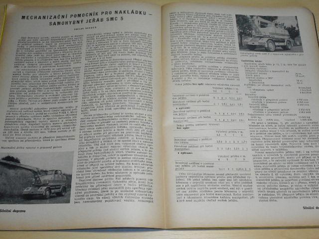 Silnični doprava - 7/1961 - časopis
