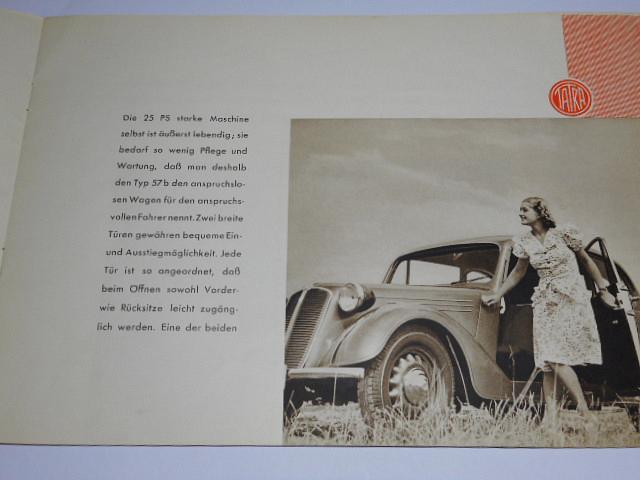 Tatra 57 b - prospekt