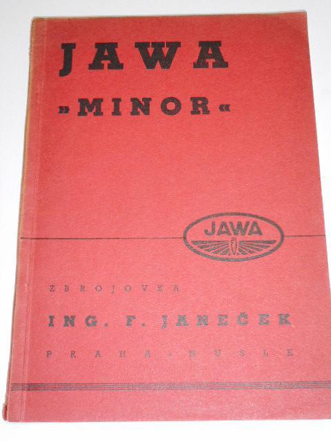 JAWA Minor - příručka - 1938
