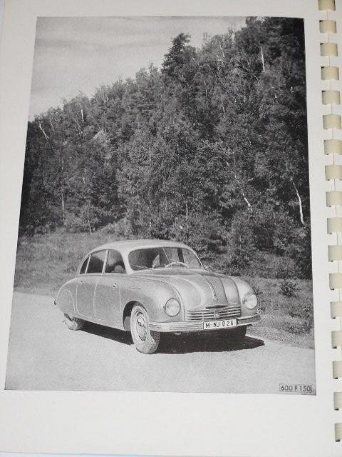 Tatra - Tatraplan - Driver´s manual - 1950 - Kovo Limited