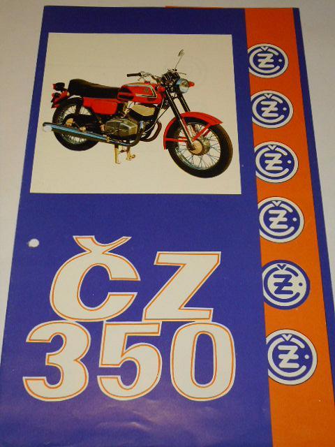 ČZ 350 typ 472-3 sport - prospekt