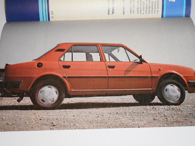 Mototechna, AMK Svazarmu Mototechna - Škoda 136 - leták