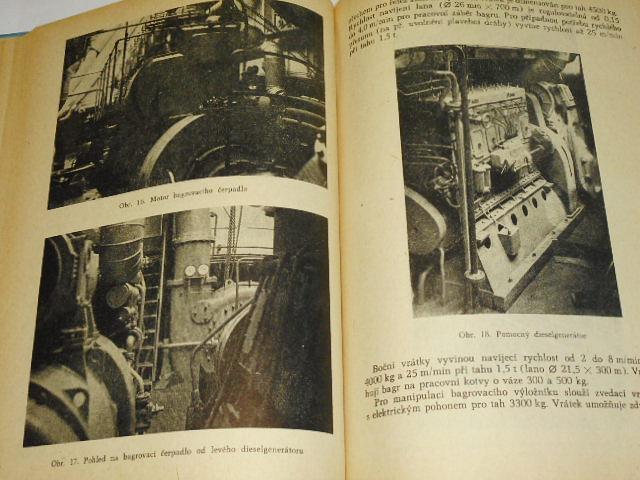 Světová výroba a provoz ssacích bagrů - Emil Livečka - 1958