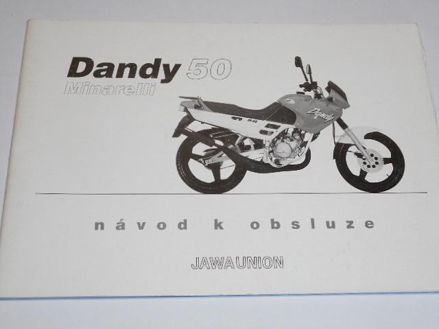 Dandy 50 Minarelli - návod k obsluze - JAWA UNION - 1999