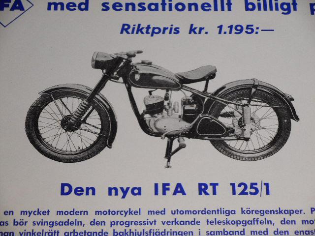 IFA RT 125/1 - 1954 - prospekt