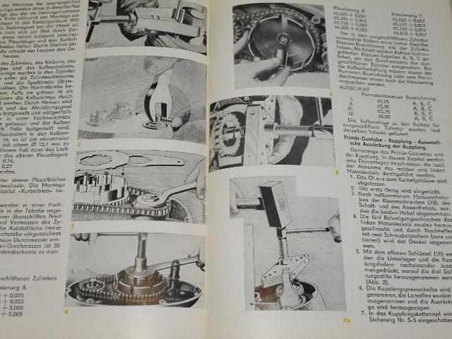 Tschechoslowakische Motor - Revue - 1958 - JAWA, ČZ, Čezeta...