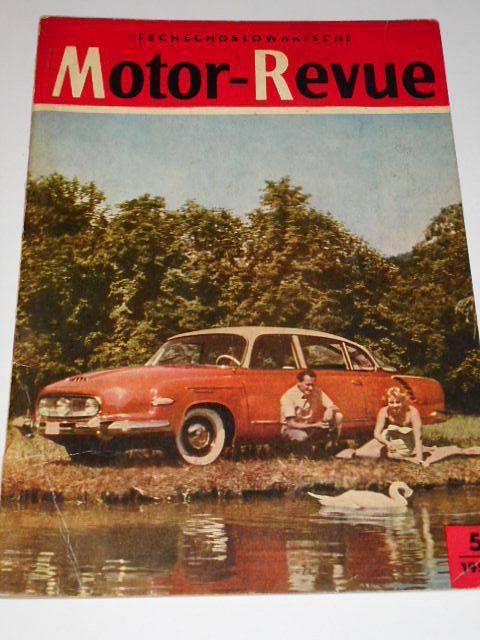 Tschechoslowakische Motor - Revue - 1958 - Tatra, Praga, Škoda, RTO...