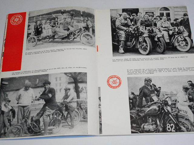 Revista del Motor Checoslovaca - 1958 - Laurin a Klement, Jawa, Manet...