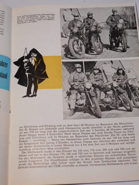 Tschechoslowakische Motor - Revue - 1963 - JAWA, ČZ, Škoda, ESO...