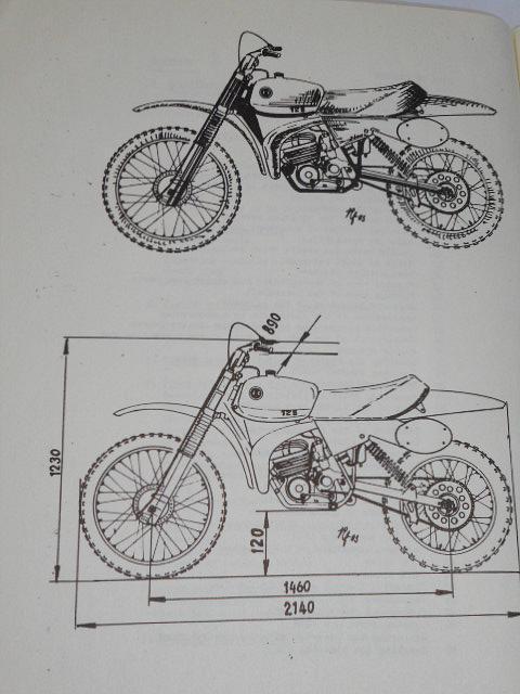 ČZ 125 typ 516 motocross - owner´s manual - 1983