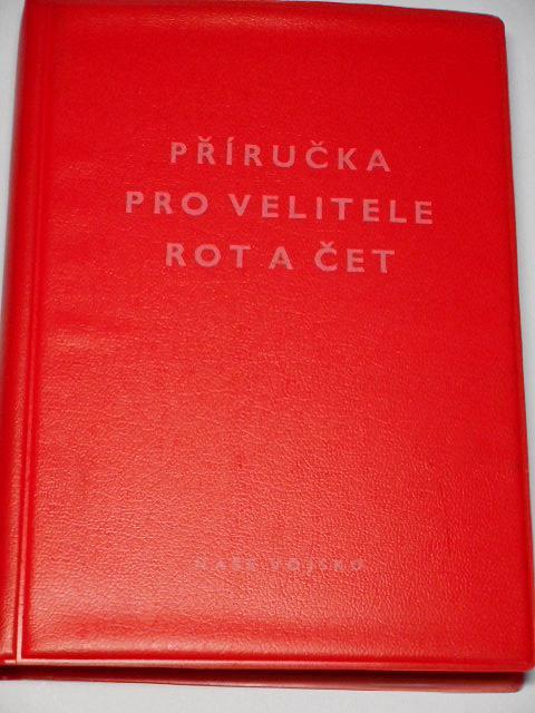 Příručka pro velitele rot a čet - 1975