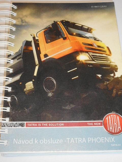 Tatra Phoenix - návod k obsluze - 2011