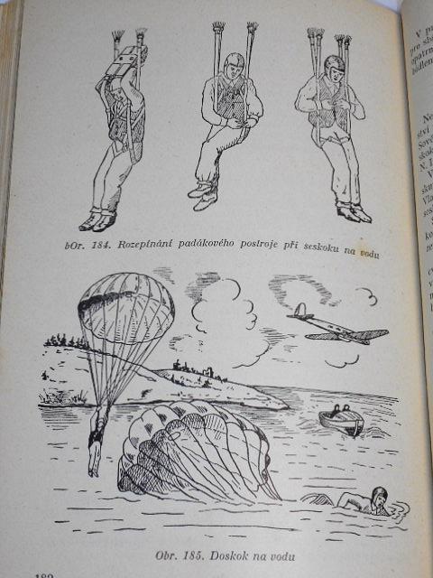Parašutistický sport - A. M. Lukin - 1954