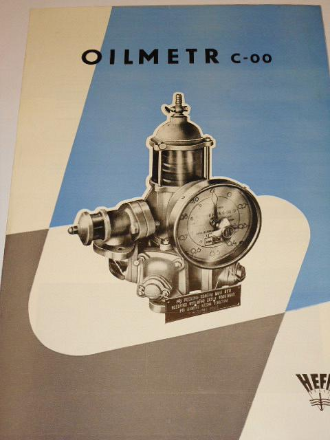 HEFA - oilmetr C-00 - prospekt