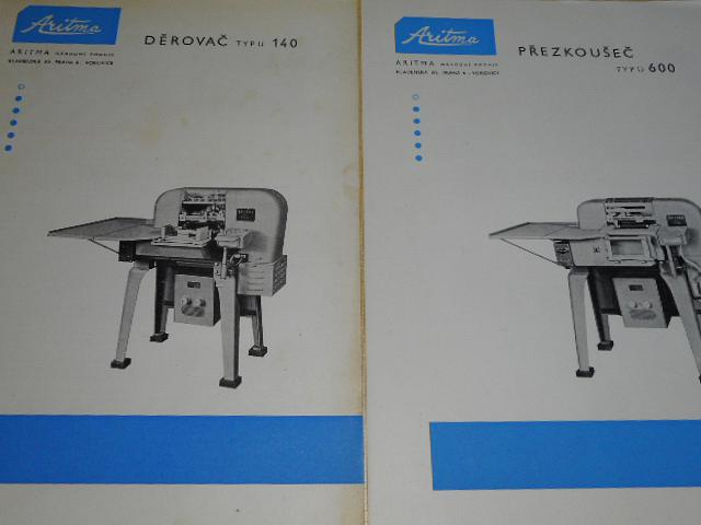 Aritma - katalog výrobků - prospekty - 1959