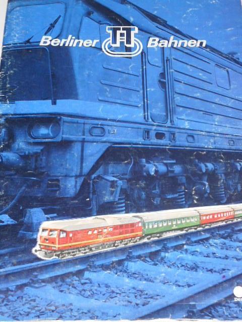 Berliner TT Bahnen - modelová železnice - prospekt - 1979
