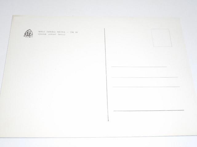 Metra Blansko - měřicí ústředna Metra ÚM 10 - výrobek světové úrovně - pohlednice