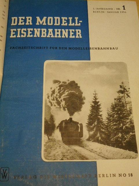 Der Modelleisenbahner - 1956 - 1957
