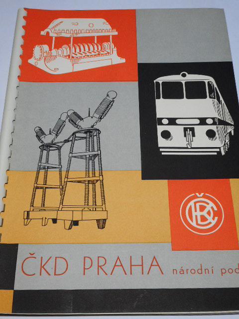 ČKD Praha, národní podnik - prospekt