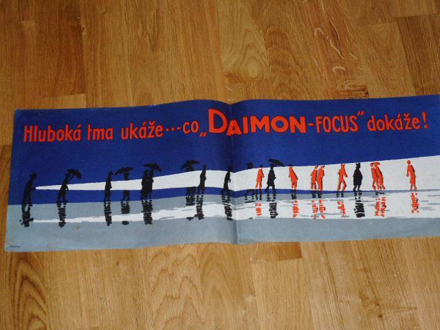 Hluboká tma ukáže ... co Daimon - Focus dokáže! plakát
