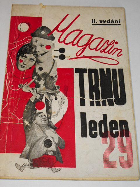 Magazín Trnu leden 1929 - Trn, satiristický časopis