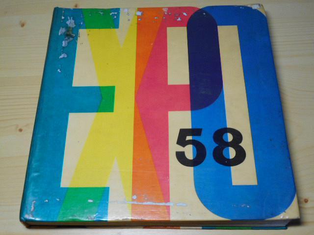 EXPO 58 světová výstava v Bruselu - Jindřich Santar - 1961