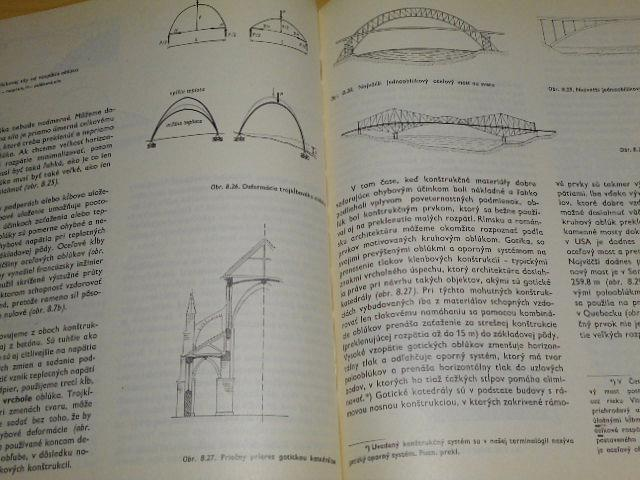 Konštrukcia v architektúre - M. Salvadori, R. Heller - 1971